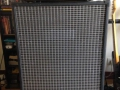 Klemt Echolette S100 1967 op 60 watt bass reflexkast ET400 met 2x15 inch Isophon P38A speakers, front.