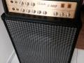Klemt Echolette S100 1967 op 60 watt bass reflexkast ET400 met 2x15 inch Isophon P38A speakers.