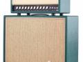 (New) Echolette MK1 stack, 35 watt top op 212 cabinet, front.
