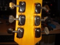 Burns Baby Bison 1965, headstock back.