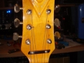 Burns Baby Bison 1965, headstock front.