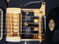 Burns Black Bison 1961, detail tremolo met serienummers.