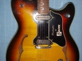 Burns GB66 DeLuxe 1965, body.