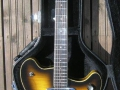 Burns GB66 Sunburst 1965, in original case.
