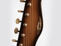 Burns Jazz Shortscale gitaar 1962, headstock front.