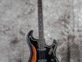 Burns Jazz Shortscale gitaar Red Burst 1962.