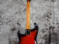 Burns Jazz Shortscale gitaar Red Burst.