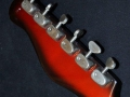 Burns Jazz Split Sound 1962, headstock back.