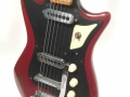 Burns Sonic 6 string gitaar 1960, body met Burns Pat APP tremolo.