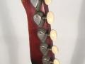 Burns Sonic 6 string gitaar 1960, headstock met van Gent tuners, back