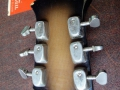 Burns Vibraslim 6 string Hollow Body 1964, headstock back.