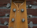 Burns Virginian Naturel 1965, headstock front.