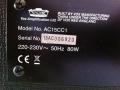 2006-2010 Vox AC15CC1 Korg China typeplaatje.