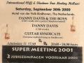 2000 Sept 39e Eindhoven Ticket avond.