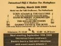 2000 maart 38e Eindhoven, ticket middag.