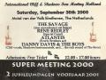 2000 sept 39e Eindhoven Free Ticket voor genodigden middag.