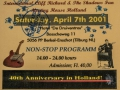 2001 april 40e De Druiventros, dagticket zaterdag.