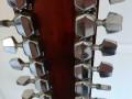 Alfesta W160-12, 12 string Fichten top, Maple zij achter en hals,  Rosewood bridge en toets, headstock back.