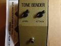 Tone-Bender MK1 Gary Hurst originele metalen uitvoering van Sola Sound Ltd (Musical Exange) 1965.