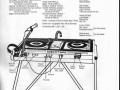 Vox Discotheque -Discotape Unit, pagina uit VSL catalogus 1971.