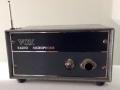 Vox Radio Microphone Receiver 1964, deel van wellicht s'werelds eerste draadloze zender, de TTR6. De Transmitter werd gekoppeld aan en speciale Vox Shure of Reslo microfoon.