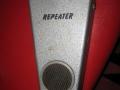 Vox Repeater Pedal, tevens gebruikt als body voor de Winchester basgitaar.