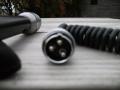Vox VL-3 Dynamic Microphone 1966, aansluitplug (fabrikaat Reslo UD1).