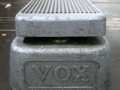 Front Vox Wah Wah Grey.