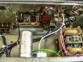 Binson Echorec P.E. 603-M, transistor 1971, 4 replay buttons. 1 tone-control, 1 input, techniek.