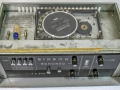 Binson Echorec P.E. 603-M, transistor 1971, 4 replay buttons. 1 tone-control, 1 input, top.
