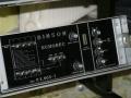 Binson Echorec P.E. 603-T 1969 buizen (transistor kwam in 1971) met 4 playback en 4 feedback buttons, front.