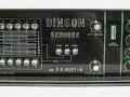 Binson Echorec P.E.-603-T6, transistor 1972, 6 replay en 6 feedback buttons, 2 tone-controls, 1 input.