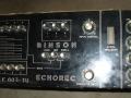 Binson Echorec P.E.-603-TU buizen 1969, 4 playback en 4 feedbackbuttons, 2 tone-controls.