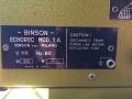 Binson Echorec 1A met Guild label, typeplaatje.