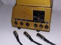 Italiaanse Geloso no 396 pluggen voor 3 voudige input (E) en output (U) en aansluiting voor Binson Pre-mixer.