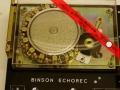 Binson Echorec EC 10, met 10 weergavekoppen.