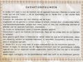 Binson garantiebewijs van Nederlandse importeur A. Harder N.V., achterkant.