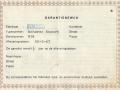 Binson garantiebewijs van Nederlandse importeur A. Harder N.V., voorkant.