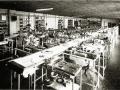 Lopende band Binson fabriek versterkers.