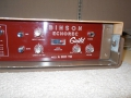 Binson A-601-TR met Guild label, transistor 1969, controls.
