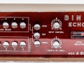 Binson A-606-TR6, transistor 1972, 6 weergavekoppen, 6 playback en 6 feedback buttons, 1 tone-control, 3 inputs.