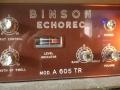 Binson A605TR 1969, controls.
