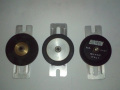inson Idler wheels voor Echorec, diameter metalen kern 23,5 , 39, 5 en 40 mm.  Indenthiek model als Garrard draaitafel 401.