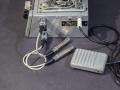 Aansluiting Geloso 396 input, output en footswitch met Geloso 5 mm jack N9008.