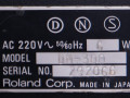 Boss DM-300 analoge delay machine met chorus 1983, typeplaatje met serienummer.