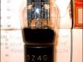 Brimar 5Z4 (=GZ30) gelijkrichtbuis (rectifier) voor Vox AC1-15 uit 1958. Made in Great Britain.