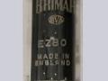 Brimar EZ80 (=6V4) gelijkrichtbuis (rectifier) voor Vox AC2, AC4 en AC6. Made in England.
