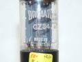 Brimar GZ34 (=5AR4). White print gelijkrichtbuis (rectifier) voor Vox AC30-100 t-m ca 1969. Made in G. Britain.
