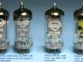 Mullard EF86 (6267) pentode-triode voor preamp van vroege Vox AC2, AC4, AC10-3, AC15-2 en 3 en AC30-4 versterkers.