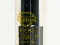 Mullard EZ81-6CA4 Yellow print gelijkrichtbuis (rectifier) voor Vox AC10, AC15, 710 en 715. Made in Great Britain.